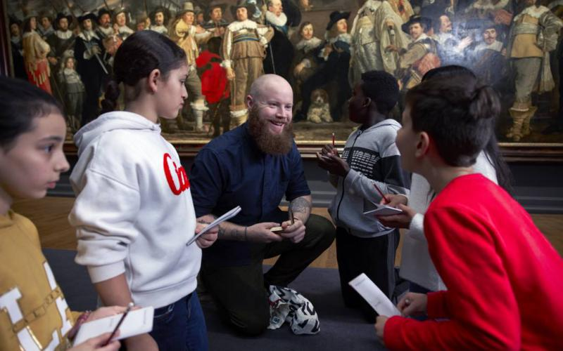 Het Rijksmuseum is weer geopend!   Beeld: copyright Rijksmuseum