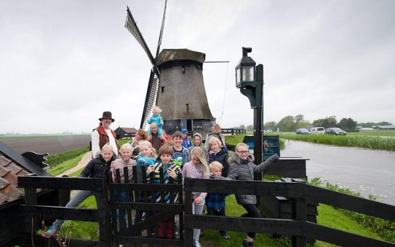 Ieder kind naar de molen   Ontdek De Hollandsche Molen!