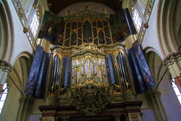 Orgel Nieuwe kerk adam